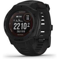 Garmin Instinct Solar Tactical GPS-Multisport-Smartwatch schwarz