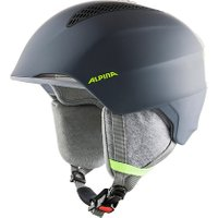 Skihelm Grand jr.charcoral-neon yellow anthrazit Gr. 54-57