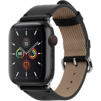 Native Union Apple Watch Strap Classic Leather Black 44mm