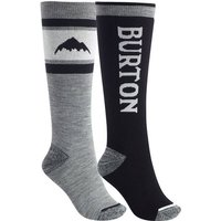 BURTON Damen Snowboardsocken Weekend Midweight Sock 2 Pack